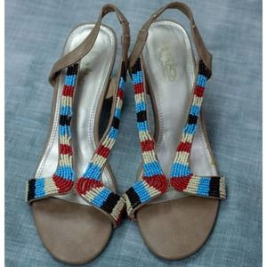 Coach and Four Beatrice Beaded Sandals